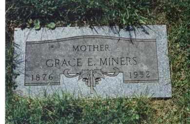 MINERS, GRACE E - Winnebago County, Illinois | GRACE E MINERS - Illinois Gravestone Photos