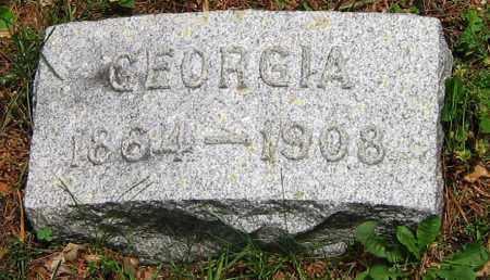 POST, GEORGIA - Winnebago County, Illinois | GEORGIA POST - Illinois Gravestone Photos