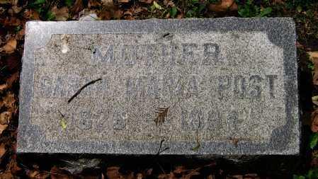 POST, SARAH MARIA - Winnebago County, Illinois   SARAH MARIA POST - Illinois Gravestone Photos