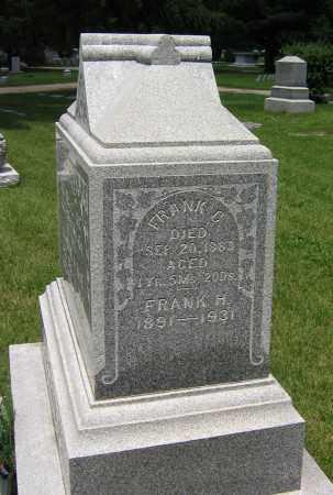 JOHNSTON, FRANK H - Winnebago County, Illinois | FRANK H JOHNSTON - Illinois Gravestone Photos