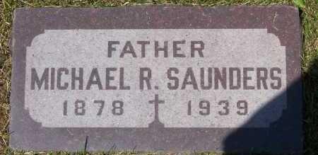 SAUNDERS, MICHAEL - Winnebago County, Illinois | MICHAEL SAUNDERS - Illinois Gravestone Photos