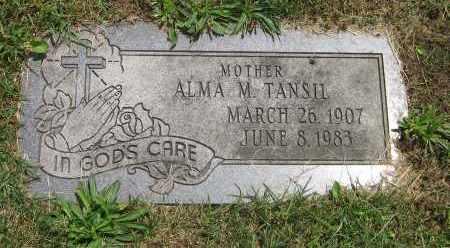 TANSIL, ALMA M - Winnebago County, Illinois | ALMA M TANSIL - Illinois Gravestone Photos