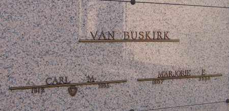 VAN BUSKIRK, CARL M - Winnebago County, Illinois | CARL M VAN BUSKIRK - Illinois Gravestone Photos