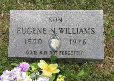 WILLIAMS, EUGENE N - Winnebago County, Illinois   EUGENE N WILLIAMS - Illinois Gravestone Photos