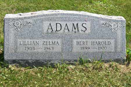 ADAMS, LILLIAN ZELMA - Woodford County, Illinois | LILLIAN ZELMA ADAMS - Illinois Gravestone Photos