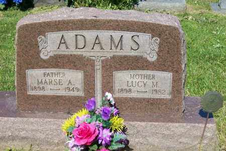 ADAMS, LUCY MAE - Woodford County, Illinois | LUCY MAE ADAMS - Illinois Gravestone Photos