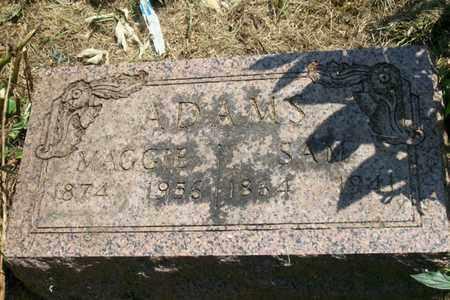 ADAMS, SAMUEL - Woodford County, Illinois   SAMUEL ADAMS - Illinois Gravestone Photos