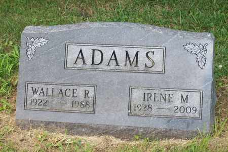 ADAMS, WALLACE REID - Woodford County, Illinois | WALLACE REID ADAMS - Illinois Gravestone Photos