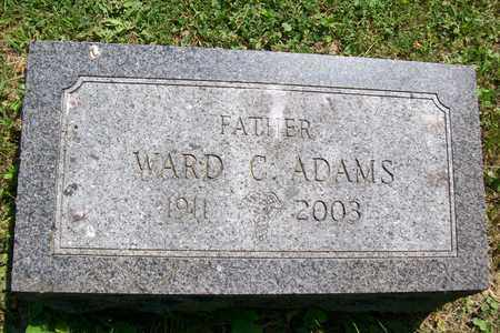 ADAMS, WARD C. - Woodford County, Illinois | WARD C. ADAMS - Illinois Gravestone Photos