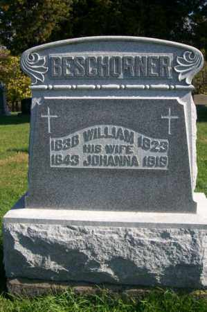 BESCHORNER, JOHANNA - Woodford County, Illinois | JOHANNA BESCHORNER - Illinois Gravestone Photos