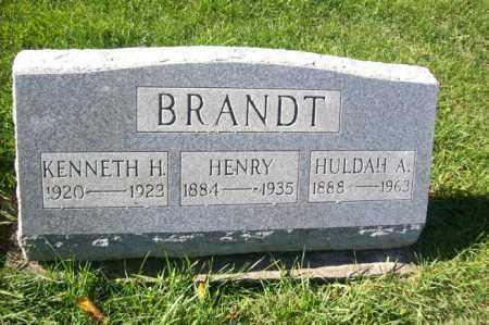 BRANDT, HENRY - Woodford County, Illinois | HENRY BRANDT - Illinois Gravestone Photos