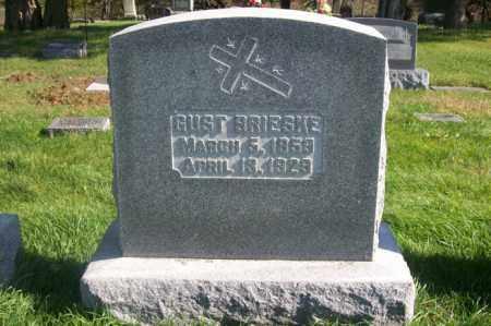 BRIESKE, GUST - Woodford County, Illinois   GUST BRIESKE - Illinois Gravestone Photos
