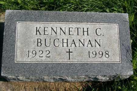 BUCHANAN, KENNETH C. - Woodford County, Illinois | KENNETH C. BUCHANAN - Illinois Gravestone Photos