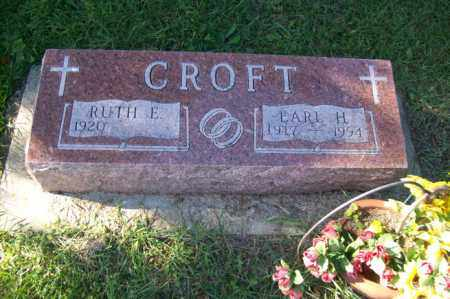 CROFT, EARL H. - Woodford County, Illinois   EARL H. CROFT - Illinois Gravestone Photos