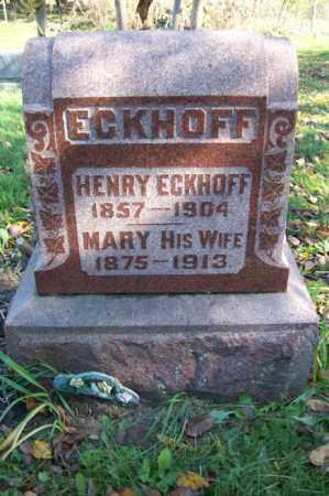 ECKHOFF, MARY - Woodford County, Illinois | MARY ECKHOFF - Illinois Gravestone Photos