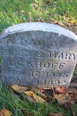 ECKHOFF, LUELLA - Woodford County, Illinois   LUELLA ECKHOFF - Illinois Gravestone Photos