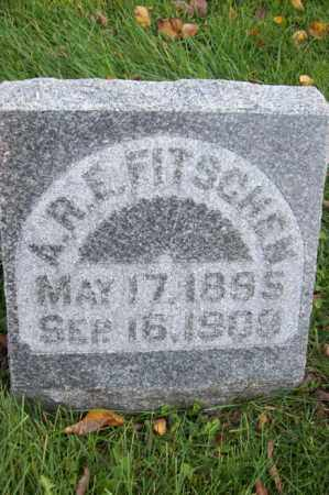 FITSCHEN, A.R.F. - Woodford County, Illinois | A.R.F. FITSCHEN - Illinois Gravestone Photos
