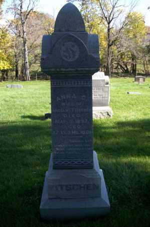 FITSCHEN, ANNA C. - Woodford County, Illinois | ANNA C. FITSCHEN - Illinois Gravestone Photos