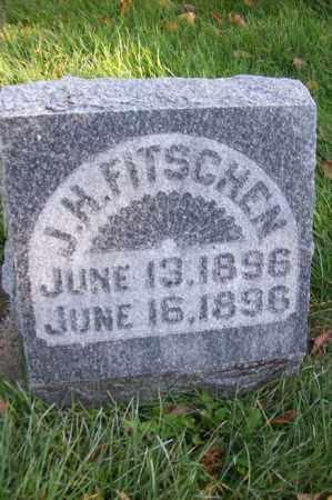 FITSCHEN, J.H. - Woodford County, Illinois   J.H. FITSCHEN - Illinois Gravestone Photos