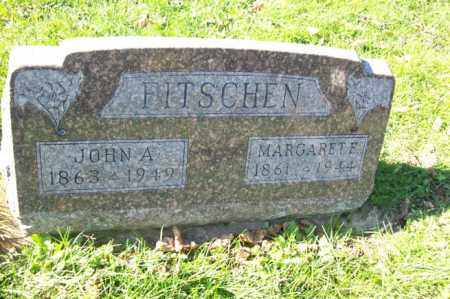 FITSCHEN, JOHN A. - Woodford County, Illinois | JOHN A. FITSCHEN - Illinois Gravestone Photos