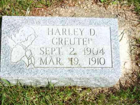 GREUTER, HARLEY D. - Woodford County, Illinois   HARLEY D. GREUTER - Illinois Gravestone Photos