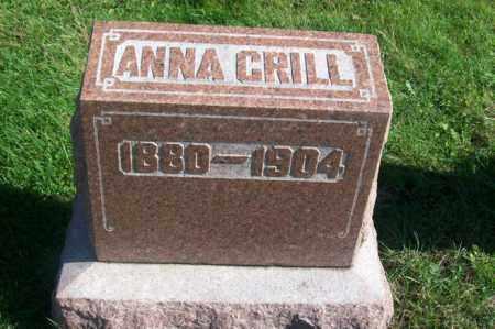 GRILL, ANNA - Woodford County, Illinois | ANNA GRILL - Illinois Gravestone Photos