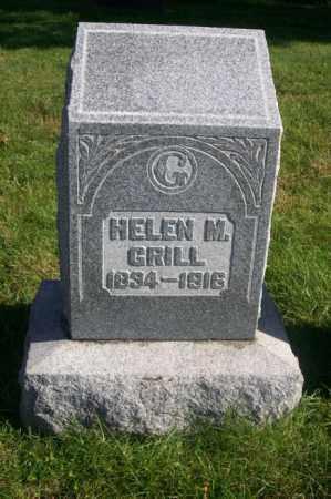 GRILL, HELEN M. - Woodford County, Illinois   HELEN M. GRILL - Illinois Gravestone Photos