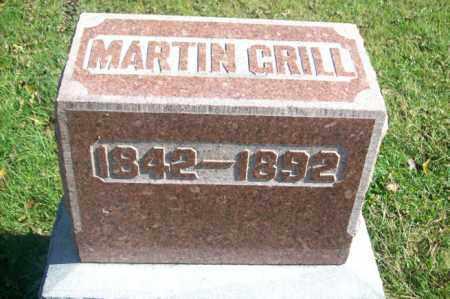 GRILL, MARTIN - Woodford County, Illinois   MARTIN GRILL - Illinois Gravestone Photos