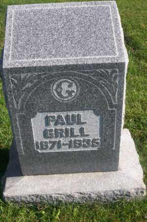 GRILL, PAUL - Woodford County, Illinois | PAUL GRILL - Illinois Gravestone Photos