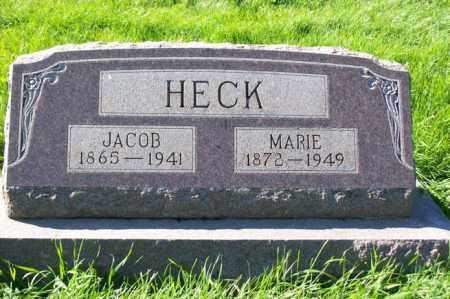 HECK, JACOB - Woodford County, Illinois   JACOB HECK - Illinois Gravestone Photos