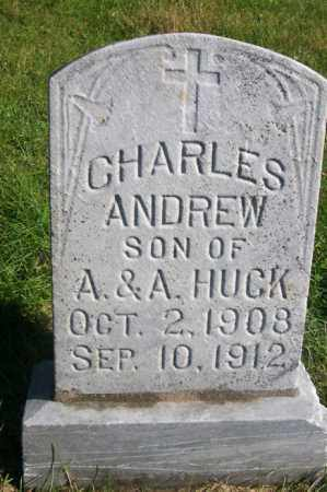 HUCK, CHARLES ANDREW - Woodford County, Illinois   CHARLES ANDREW HUCK - Illinois Gravestone Photos