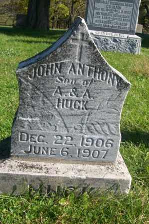 HUCK, JOHN ANTHONY - Woodford County, Illinois   JOHN ANTHONY HUCK - Illinois Gravestone Photos