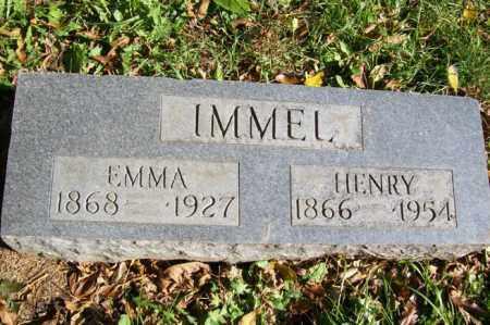 IMMEL, HENRY - Woodford County, Illinois | HENRY IMMEL - Illinois Gravestone Photos