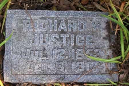 JUSTICE, RICHARD - Woodford County, Illinois   RICHARD JUSTICE - Illinois Gravestone Photos