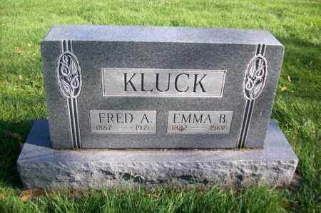 KLUCK, EMMA B. - Woodford County, Illinois   EMMA B. KLUCK - Illinois Gravestone Photos
