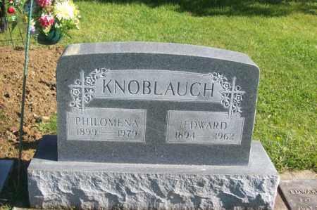 KNOBLAUCH, PHILOMENA - Woodford County, Illinois | PHILOMENA KNOBLAUCH - Illinois Gravestone Photos