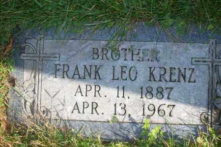KRENZ, FRANK LEO - Woodford County, Illinois   FRANK LEO KRENZ - Illinois Gravestone Photos