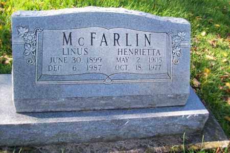 MCFARLIN, HENRIETTA - Woodford County, Illinois | HENRIETTA MCFARLIN - Illinois Gravestone Photos