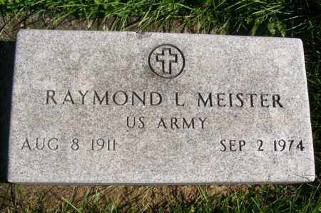 MEISTER, RAYMOND L. - Woodford County, Illinois   RAYMOND L. MEISTER - Illinois Gravestone Photos