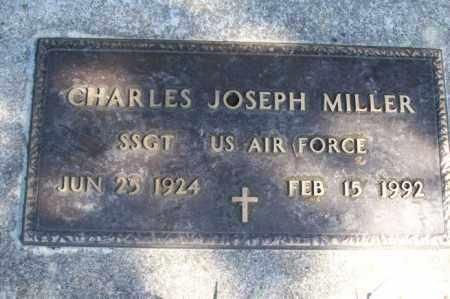 MILLER, CHARLES JOSEPH - Woodford County, Illinois | CHARLES JOSEPH MILLER - Illinois Gravestone Photos
