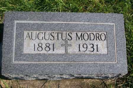 MODRO, AUGUSTUS - Woodford County, Illinois   AUGUSTUS MODRO - Illinois Gravestone Photos