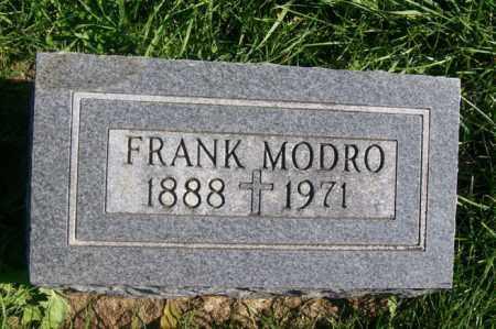MODRO, FRANK - Woodford County, Illinois | FRANK MODRO - Illinois Gravestone Photos