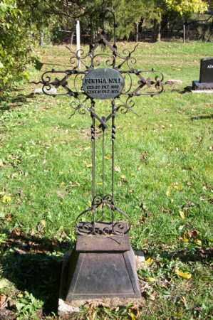 NOLL, BERTHA  (FULL VIEW) - Woodford County, Illinois | BERTHA  (FULL VIEW) NOLL - Illinois Gravestone Photos