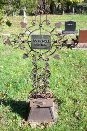 NOLL, KASPER   (FULL VIEW) - Woodford County, Illinois | KASPER   (FULL VIEW) NOLL - Illinois Gravestone Photos