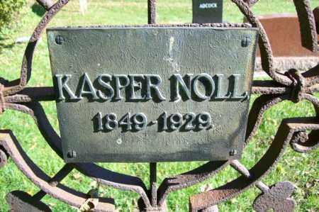 NOLL, KASPER - Woodford County, Illinois   KASPER NOLL - Illinois Gravestone Photos