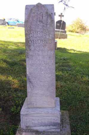 ORDING, CHRIST   (FULL VIEW) - Woodford County, Illinois | CHRIST   (FULL VIEW) ORDING - Illinois Gravestone Photos