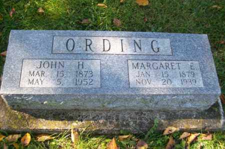ORDING, MARGARET E. - Woodford County, Illinois | MARGARET E. ORDING - Illinois Gravestone Photos