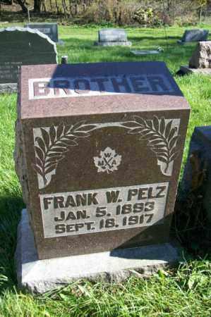 PELZ, FRANK W. - Woodford County, Illinois   FRANK W. PELZ - Illinois Gravestone Photos
