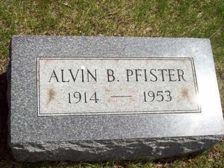 PFISTER, ALVIN B. - Woodford County, Illinois   ALVIN B. PFISTER - Illinois Gravestone Photos