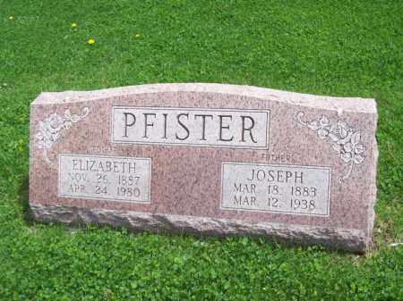 PFISTER, ELIZABETH - Woodford County, Illinois   ELIZABETH PFISTER - Illinois Gravestone Photos